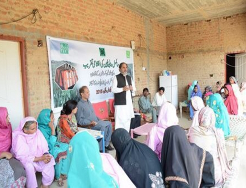Inauguration of Sisal Value Chain and development of Rural Women Enterprise in Chakwal.